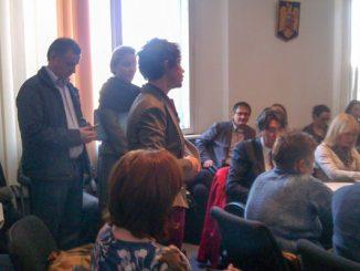 Dezbatere publica la Ministerul Sanatatii