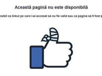 a disparut pagina facebook, pagina facebook, pagina facebook stearsa, pagina stearsa de facebook