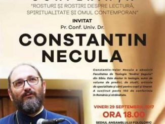 Preot Constantin Necula, conferita Focsani, VN