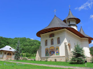 Biserica noua, Manastirea Lepsa